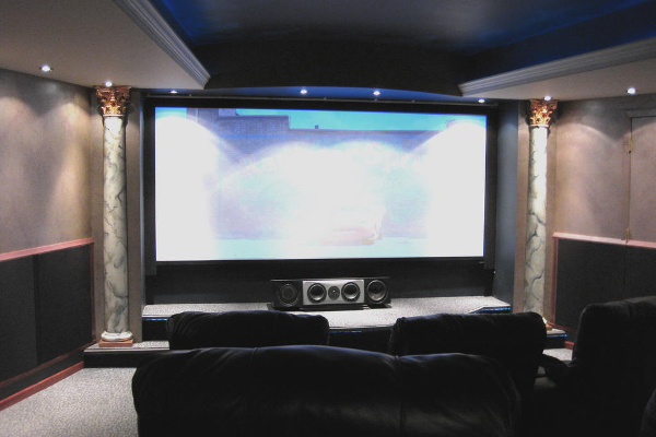 home theater columns